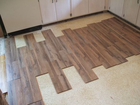 Lay Laminate Floor Preliminary Layout