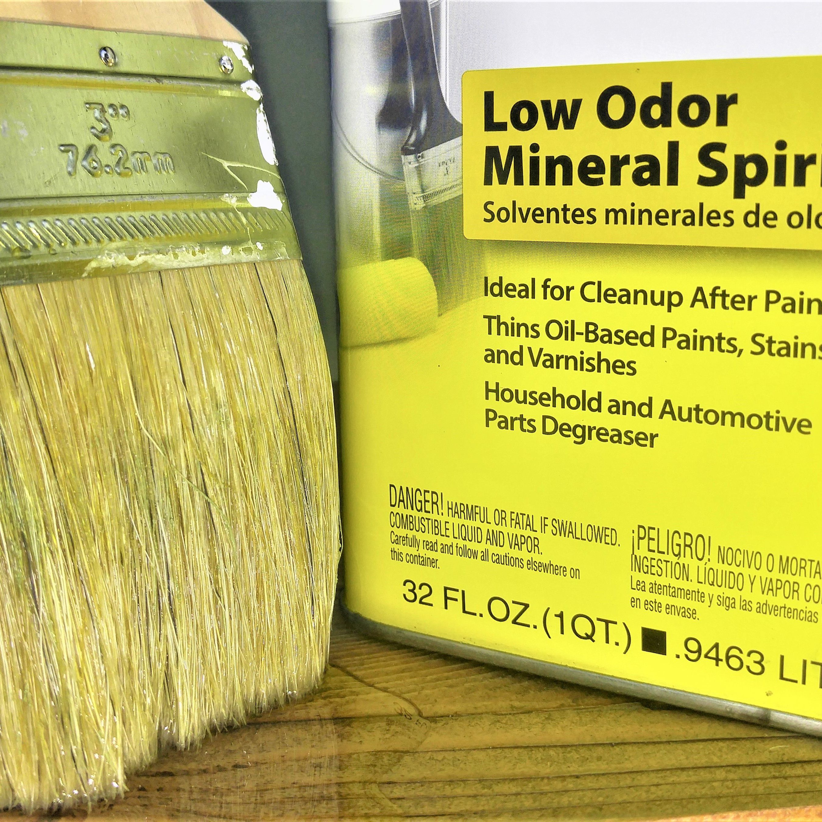 Mineral Spirits vs. Paint Thinner: What's the Difference?