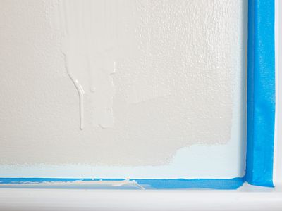 Fixing paint drips