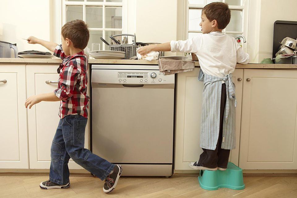 Using a chore chart can divvy up chores for kids without a lot of drama.