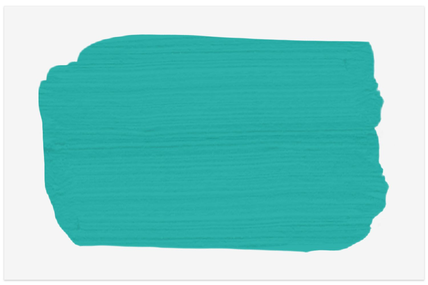 Turquoise Tint paint swatch