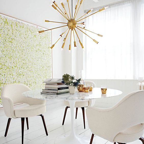 Vintage Glamour in a Dining Room