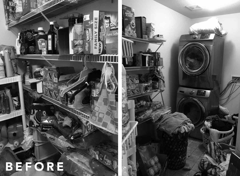 Laundry room makeover by Orlando Soria.