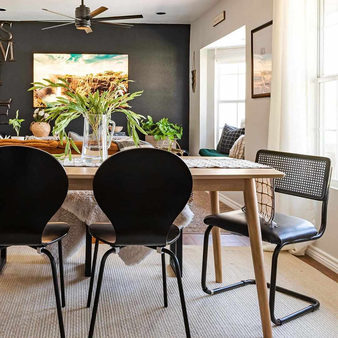 Image of: 16 Modern Dining Room Ideas