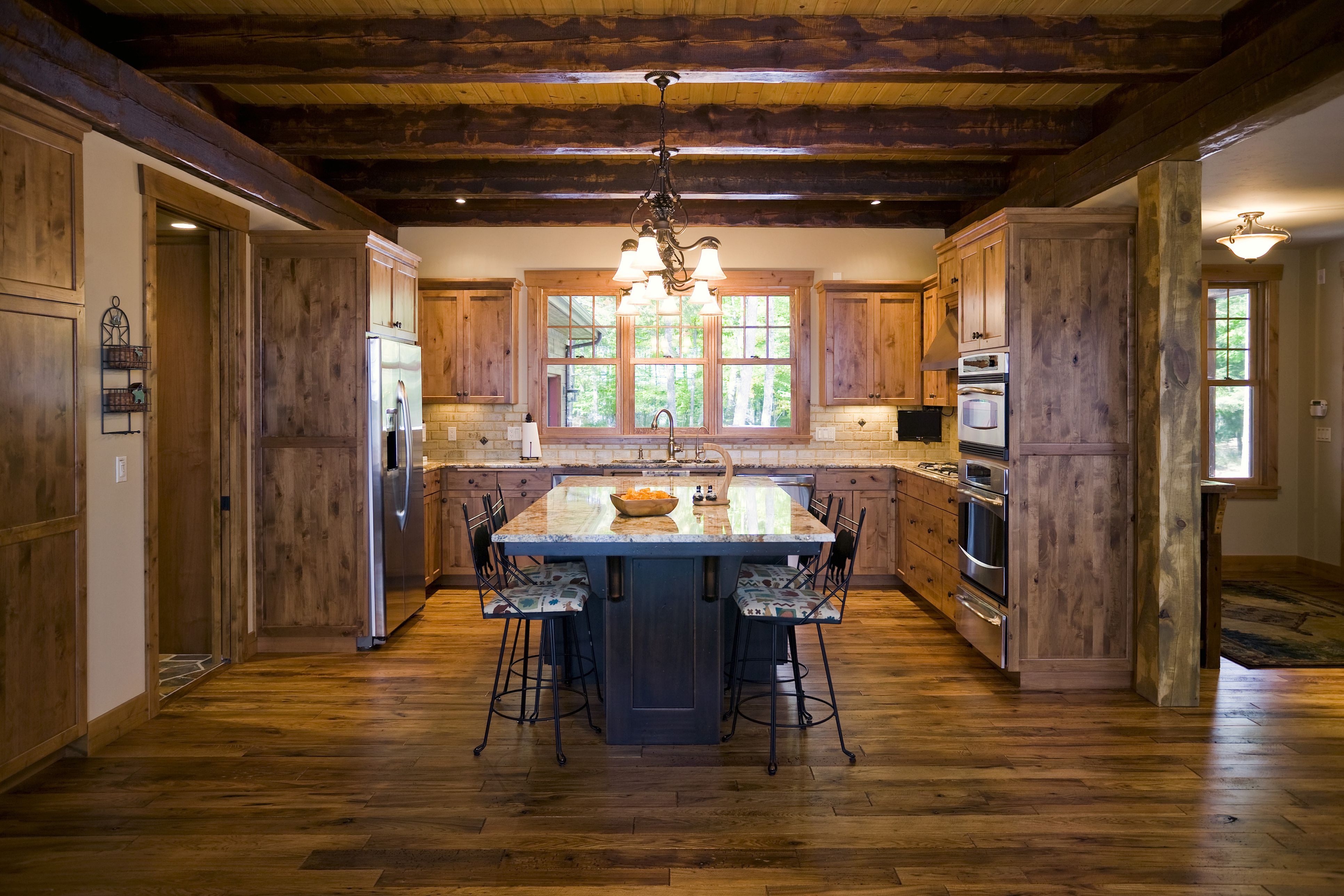 10 Kitchens With Wood Flooring