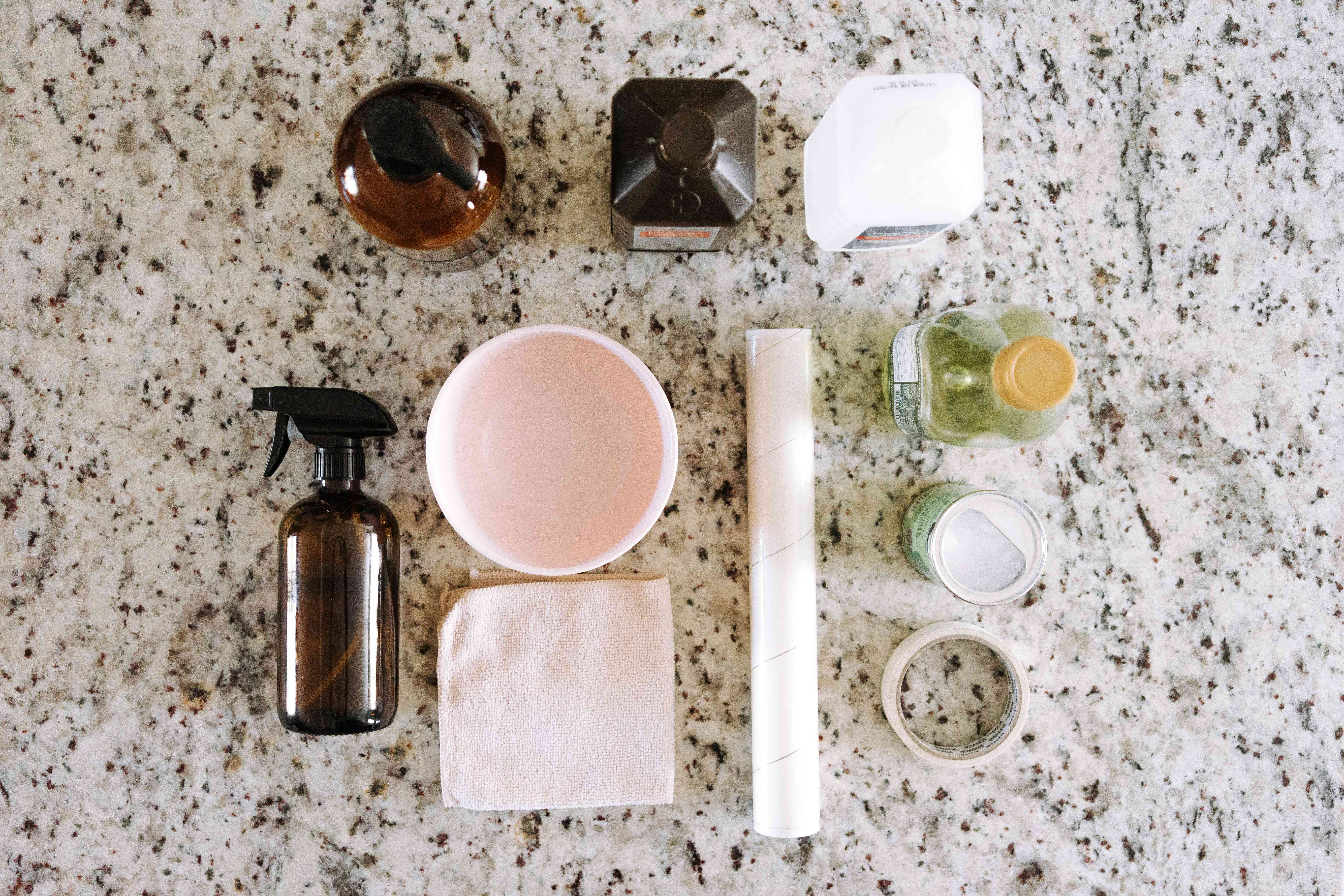 ingredients for cleaning granite