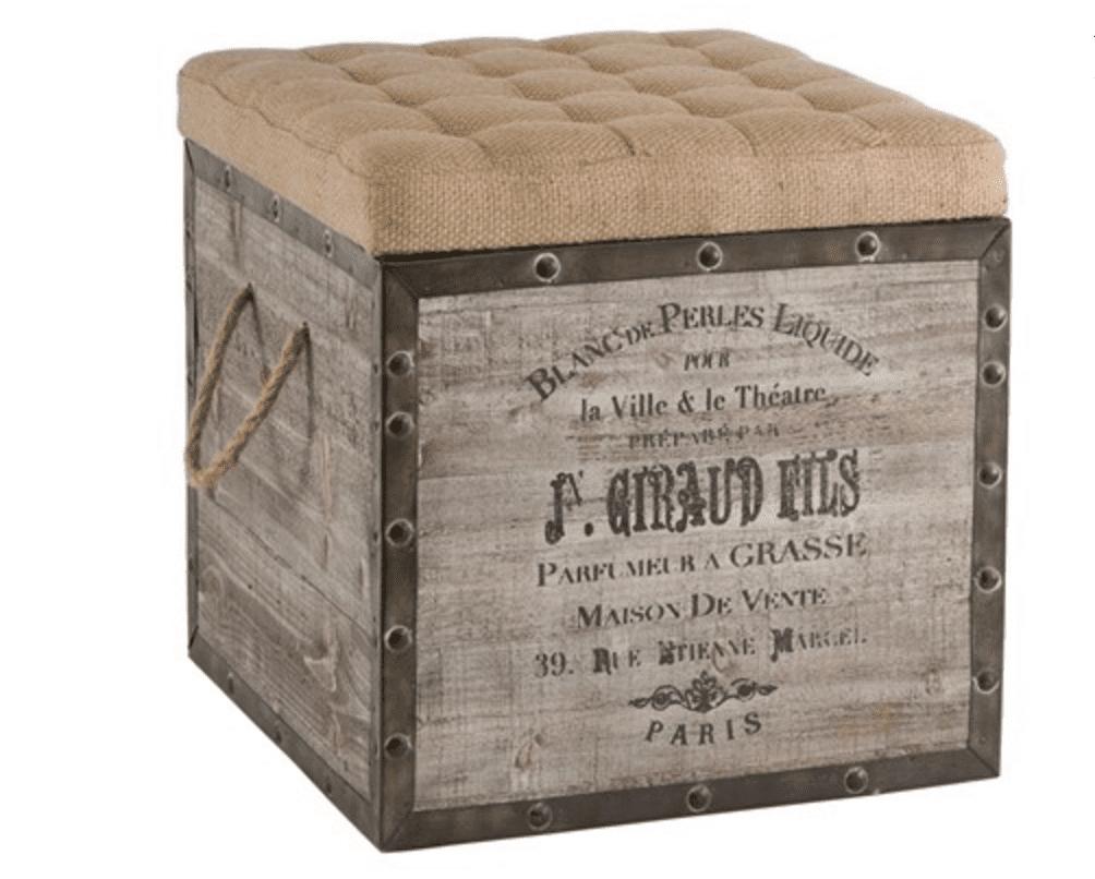 Cubo de almacenamiento vintage de Aidan Gray