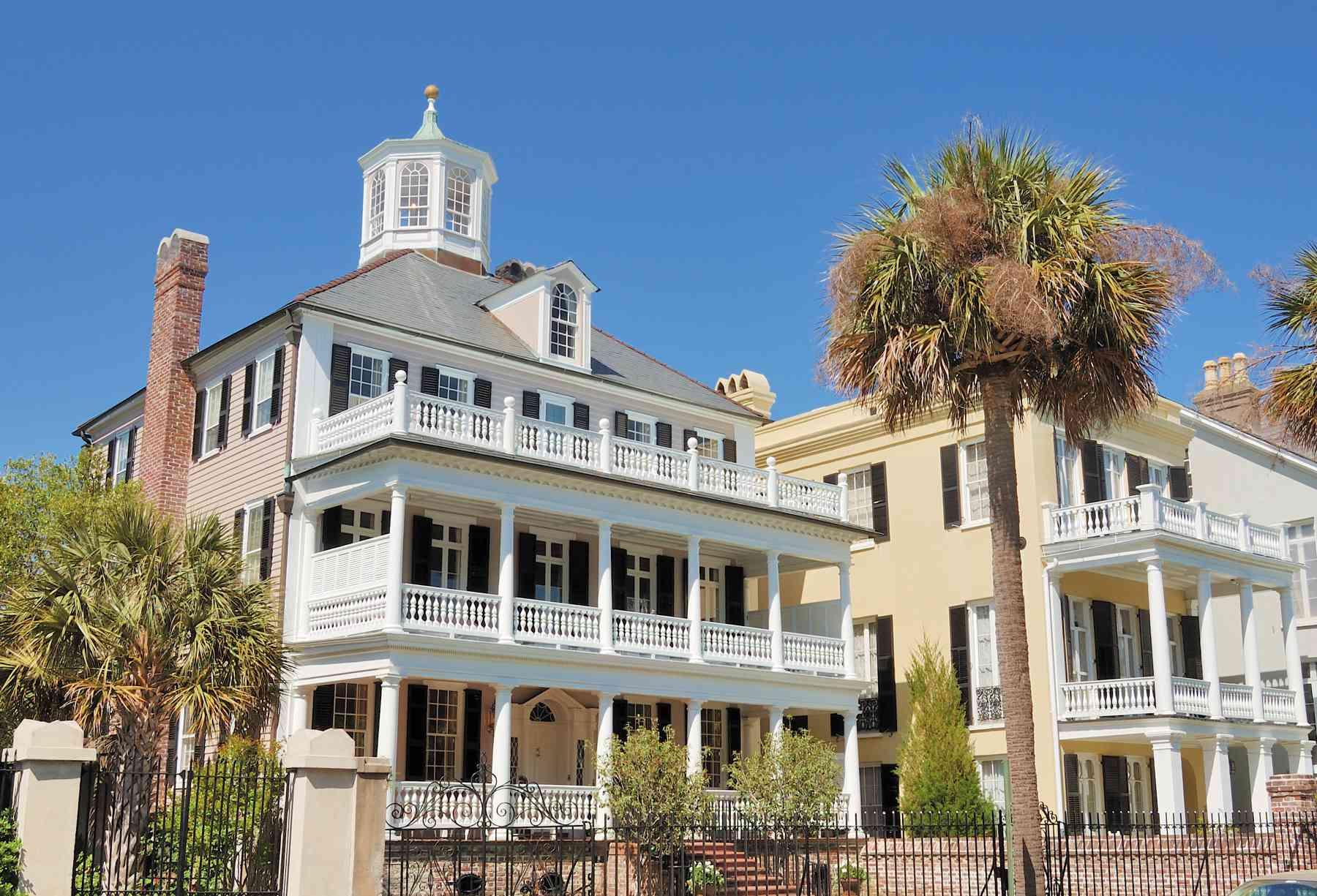 A Charleston double house.