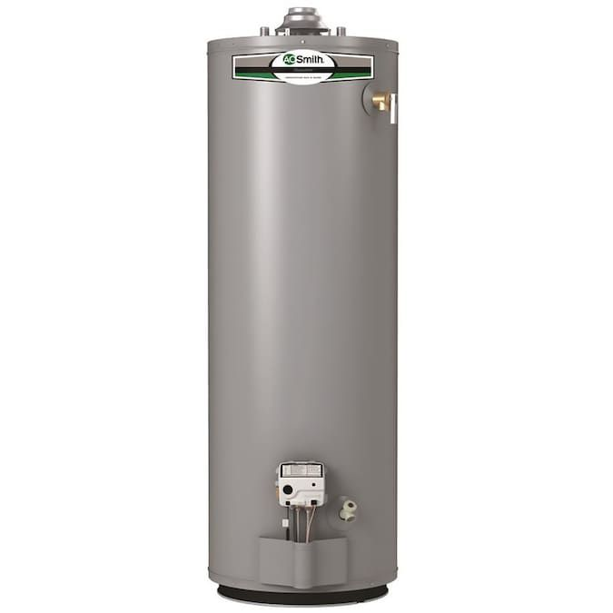 A. O. Smith Signature 40-Gallon Tall 6-Year Limited 35500-BTU Natural Gas Water Heater