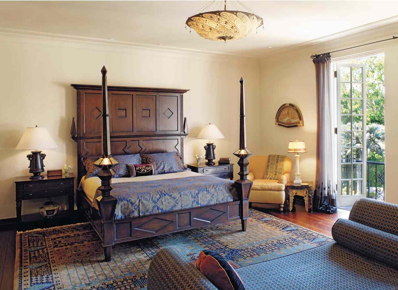 eclectic Spanish modern room mediterranean