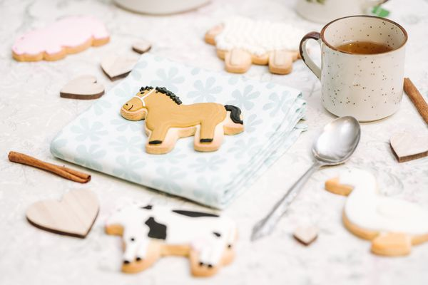 horse party cookies