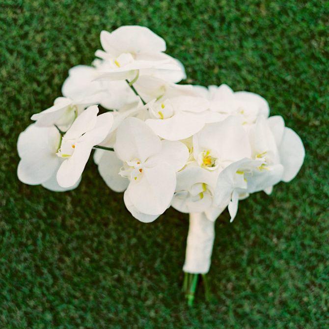 Orchid Winter Wedding Bouquet