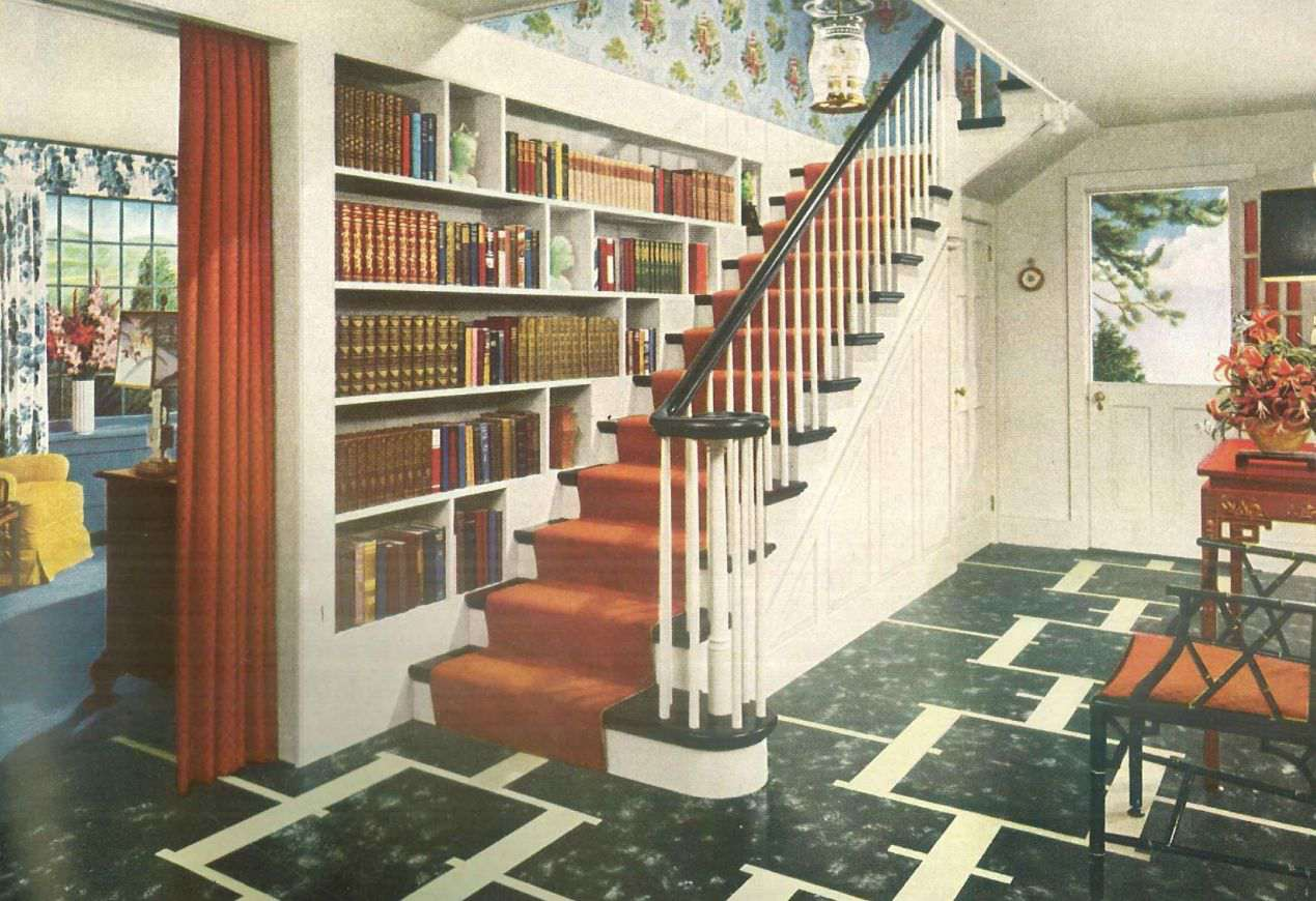 1940s Interior Home Design