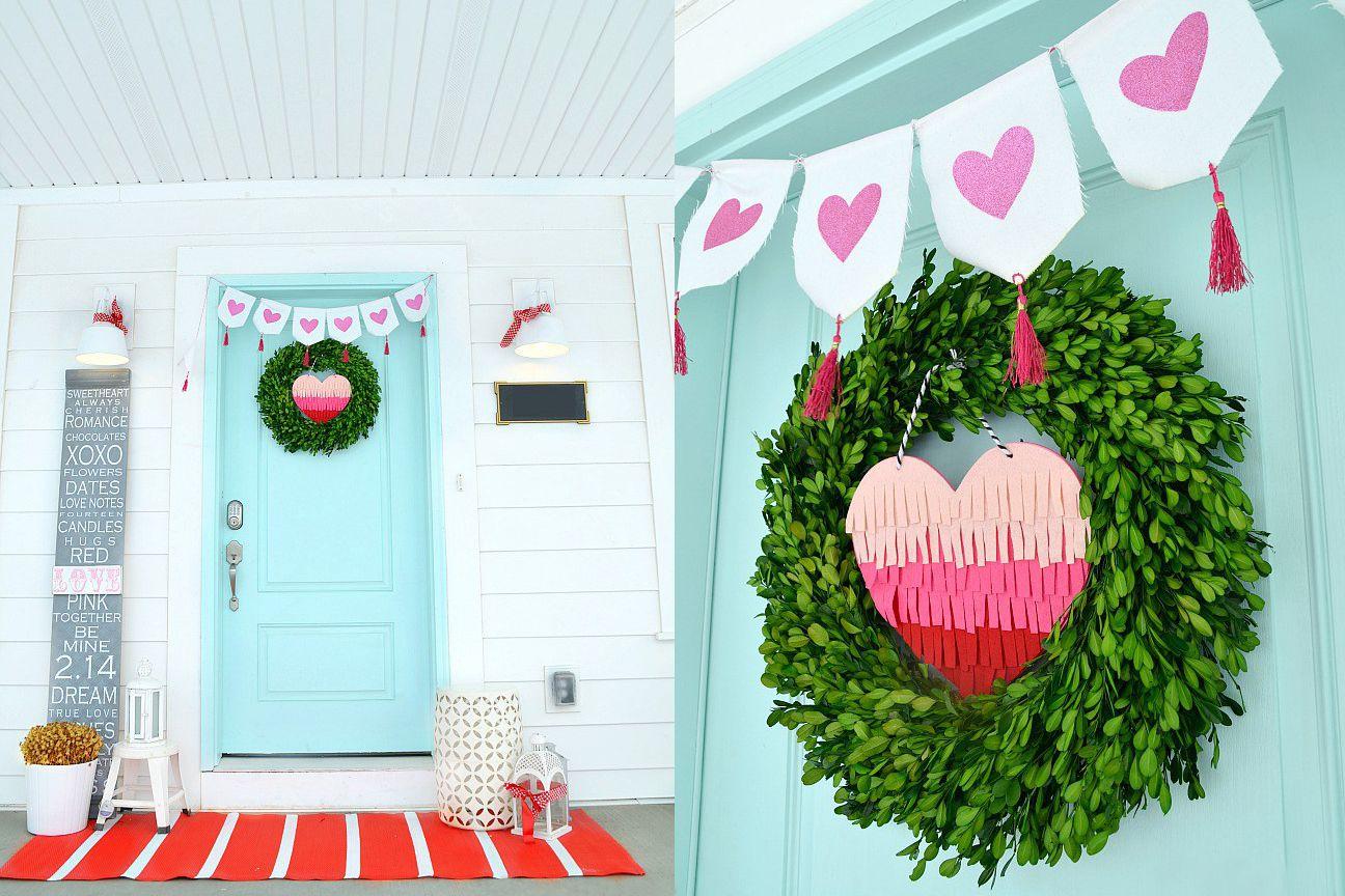 89a685761 21 Best Winter Porch Decorating Ideas