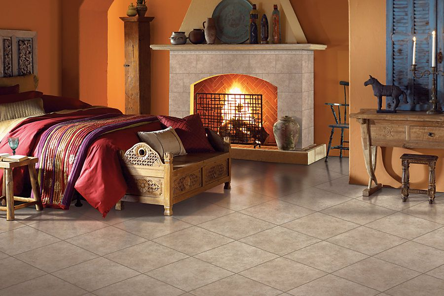 ceramic bedroom flooring