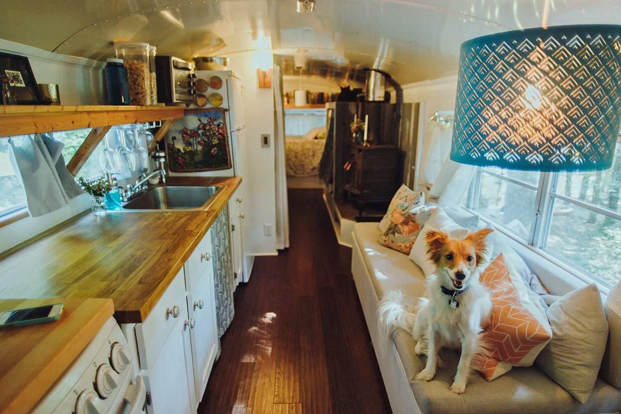 House bus bedroom