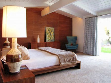 . Mid Century Modern Bedroom Decorating Ideas