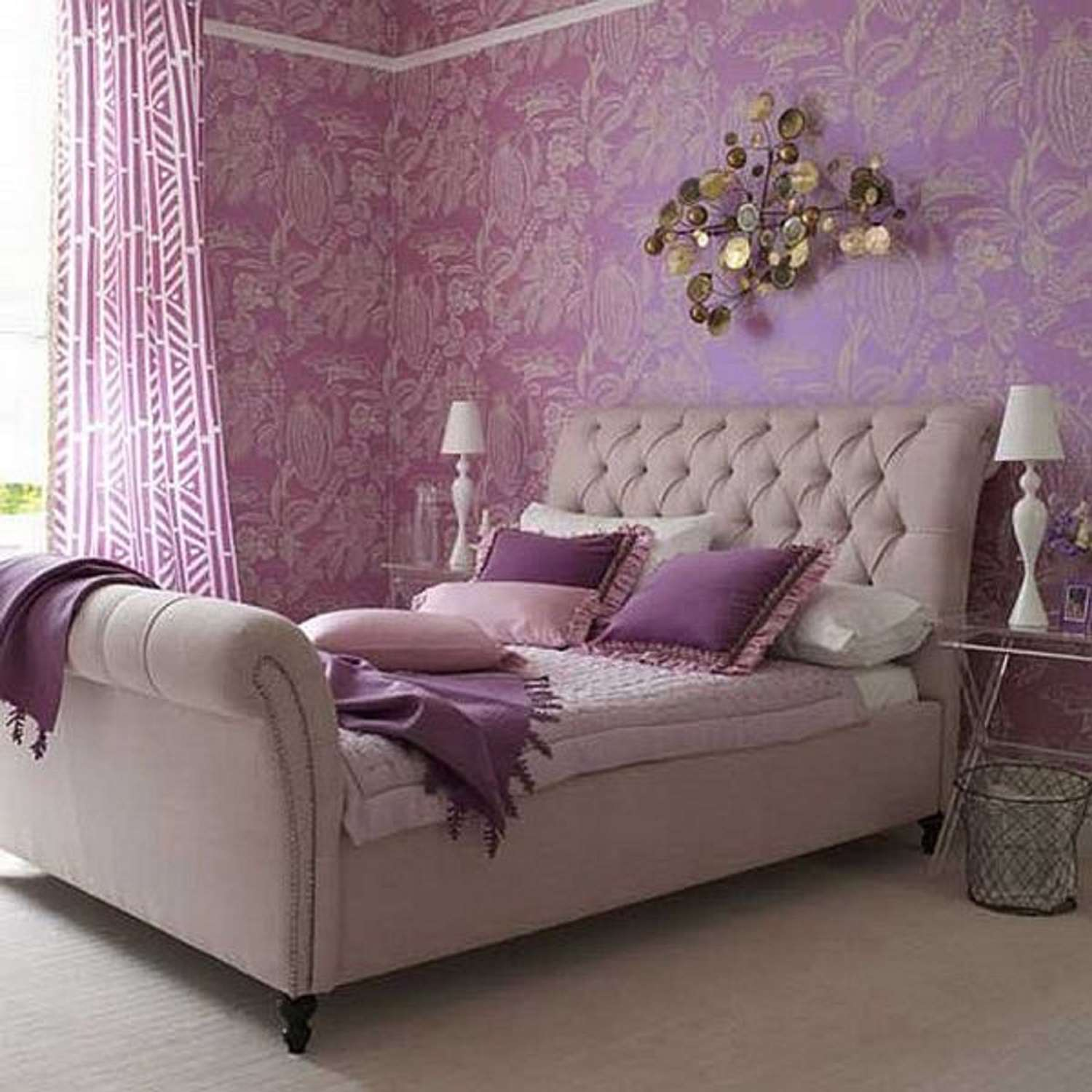Tips and Photos for Decorating the Bedroom With Lavender