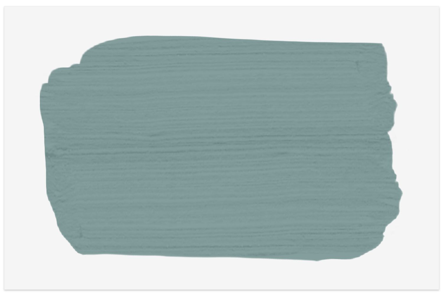 Spruce Paint swatch color in Antique Teal