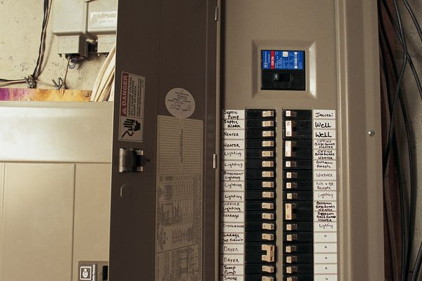 An electrical panel