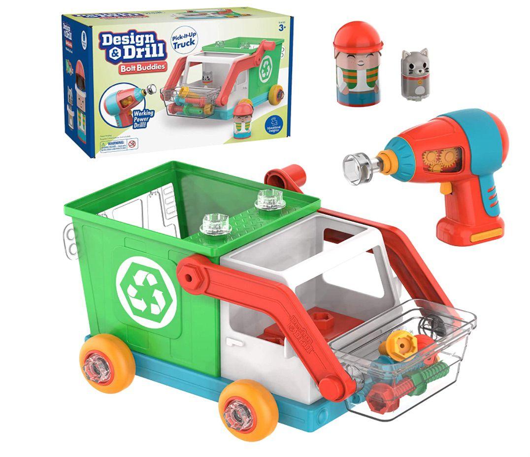 Design & Drill Bolt Buddies Recycling Truck