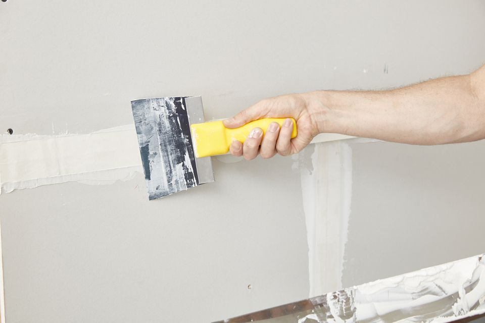 taping technique for drywall