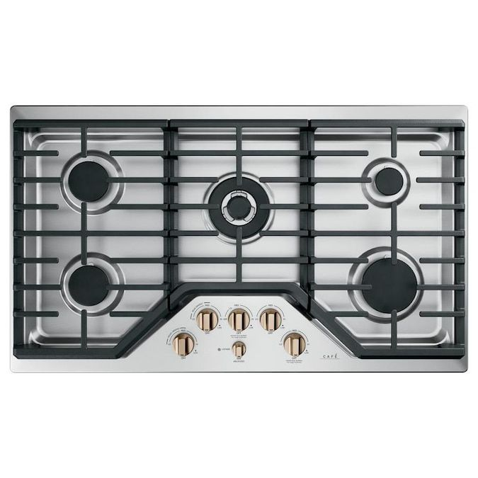 cafe-gas-cooktop-stainless-steel-bronze-36-inches
