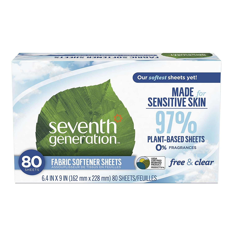 Seventh Generation Dryer Sheets