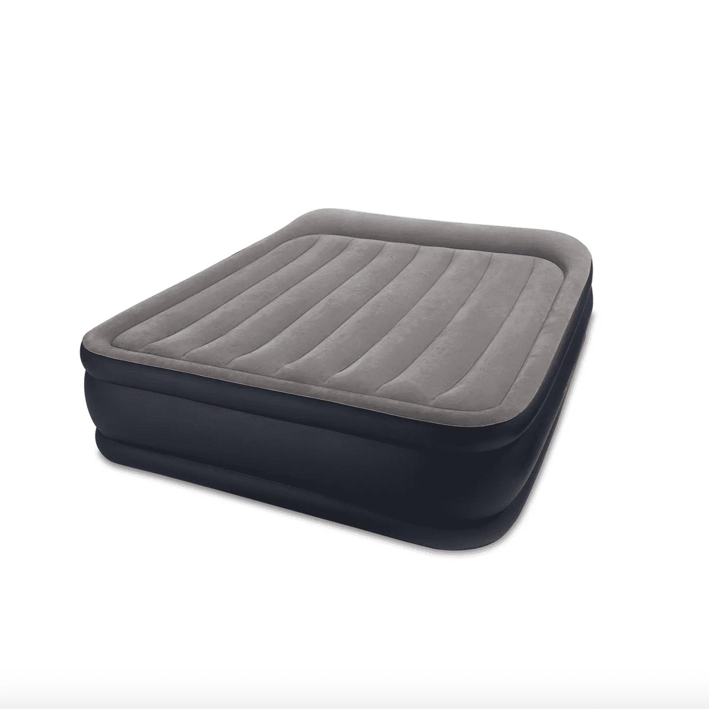 Intex Deluxe Pillow Rest Raised Blow Up Air Bed Mattress