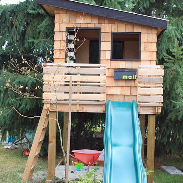 cedar shake shingle tree house