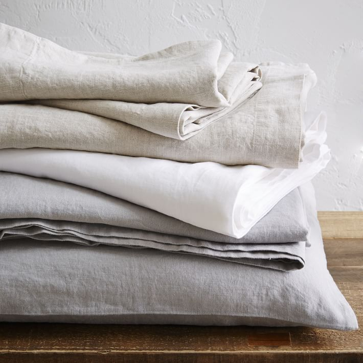 Belgian Flax Linen Sheet Set