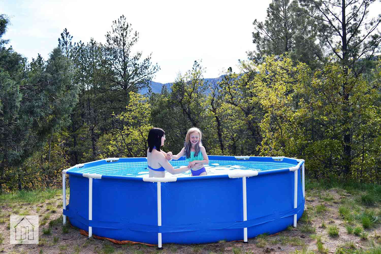 Intex 12ft x 30in Metal Frame Set Swimming Pool