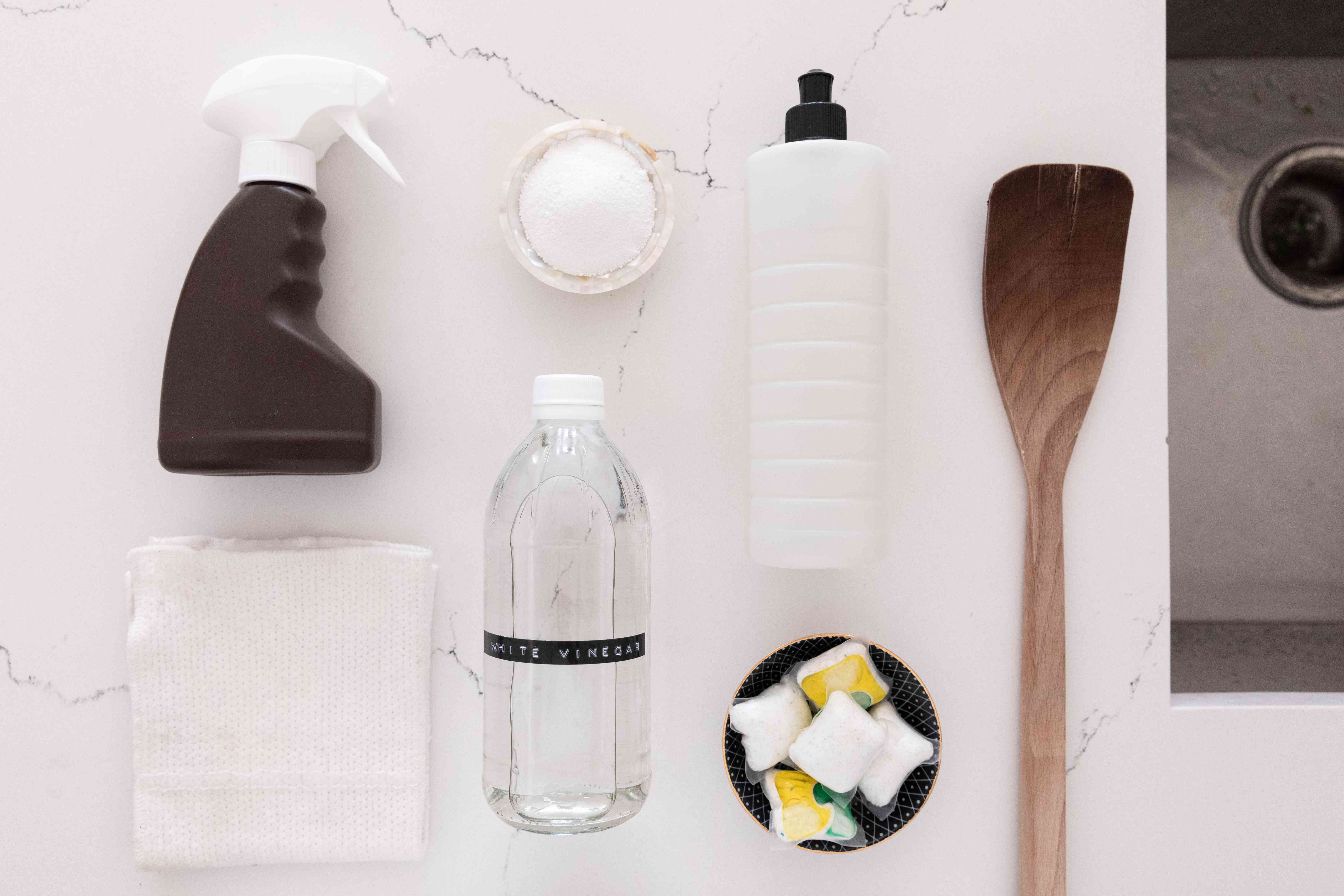 items for cleaning your French press