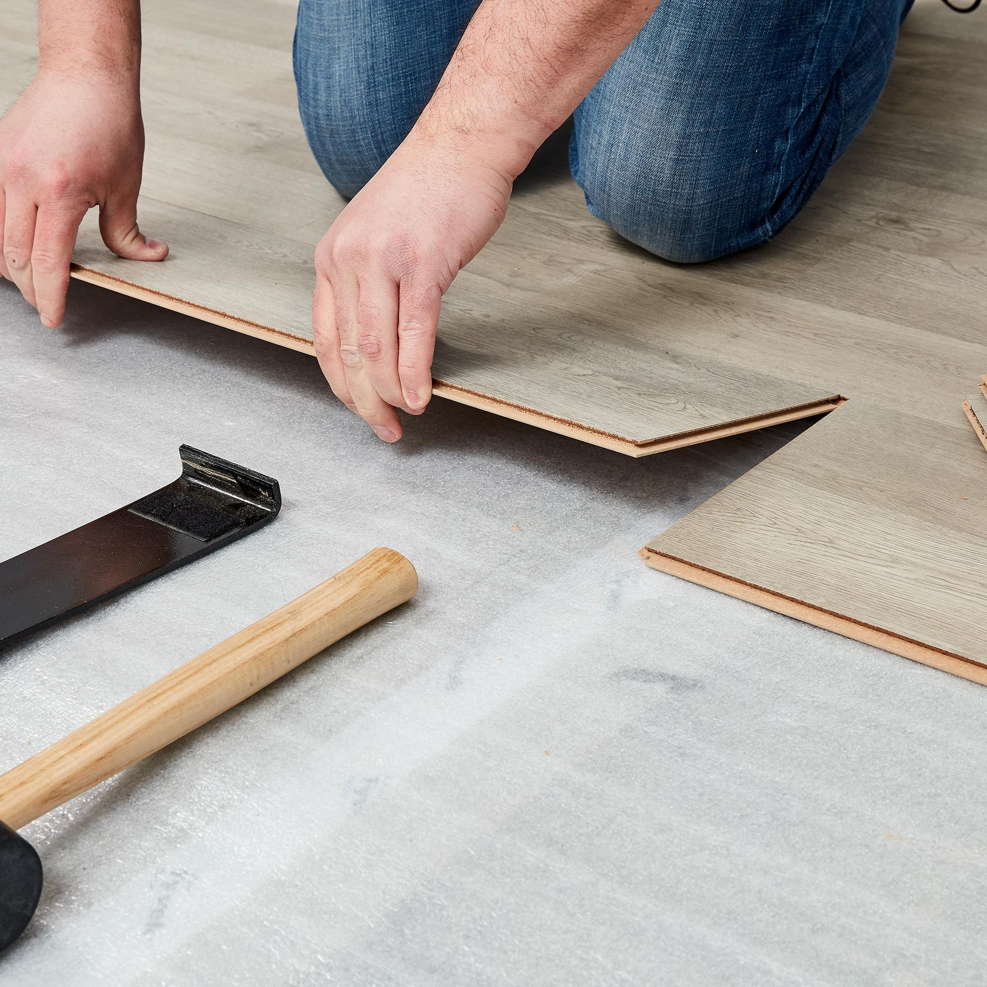 Laminate Underlayment Installation Basics, What Type Of Underlayment For Laminate Flooring On Concrete