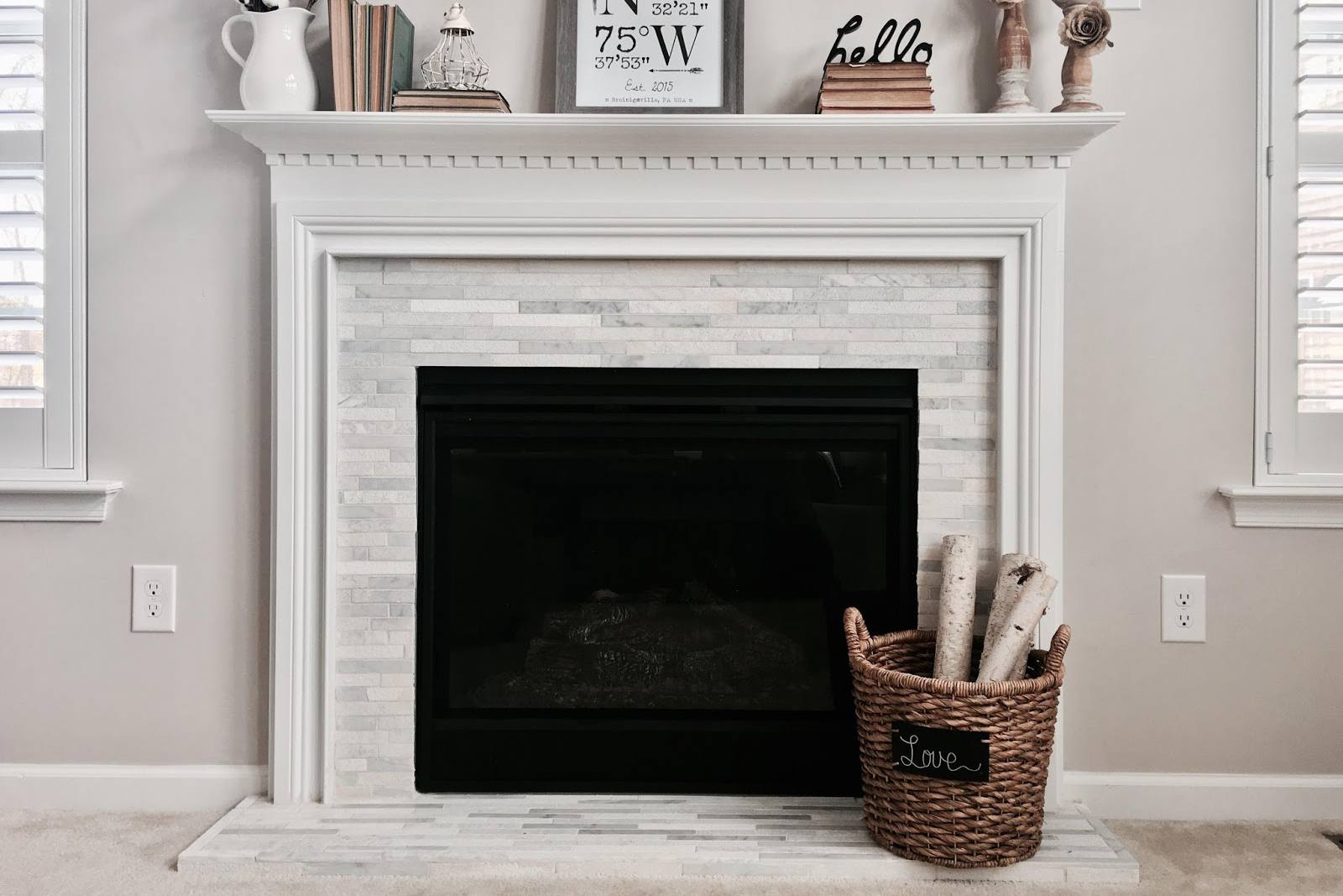 Top tiles around fireplace lw34 roccommunity - Ideas to cover fireplace opening ...