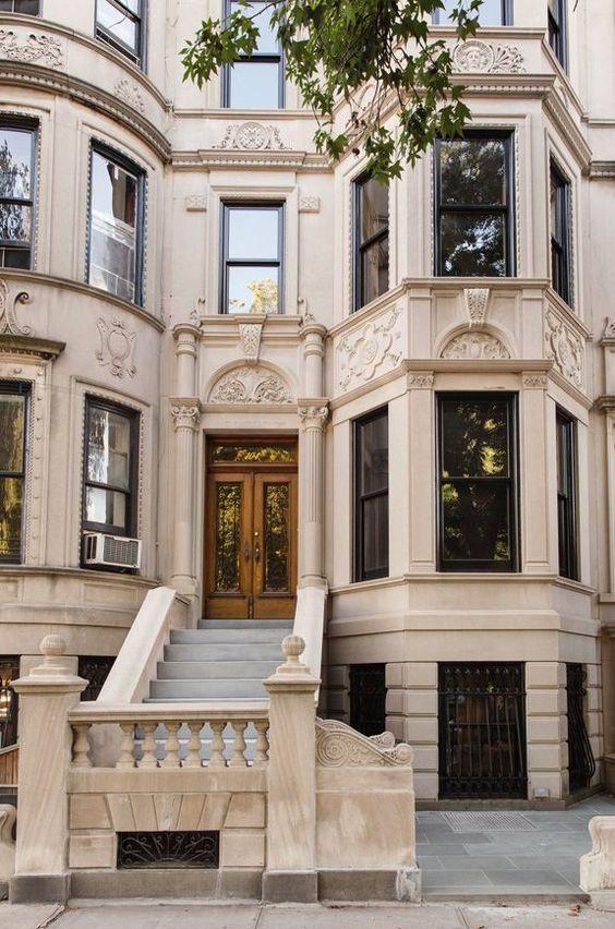 A stately Brooklyn limestone home