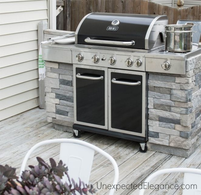 12 Diy Grill And Bbq Island Plans