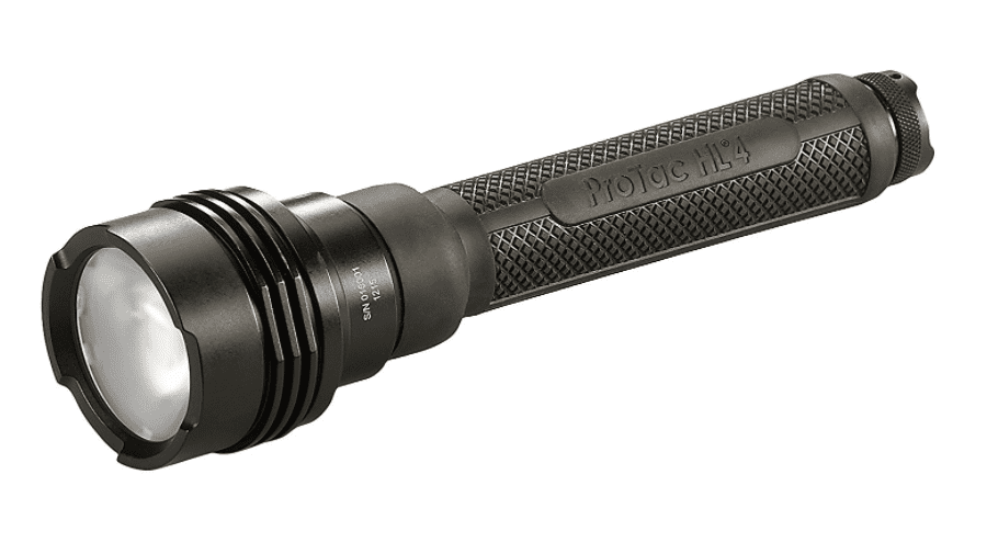 Streamlight 88060 Pro Tac HL 4 2,200 Lumen Professional Tactical Flashlight with High/Low/Strobe Dual Fuel use 4x CR123A or 2x 18650 Li-iON Batteries