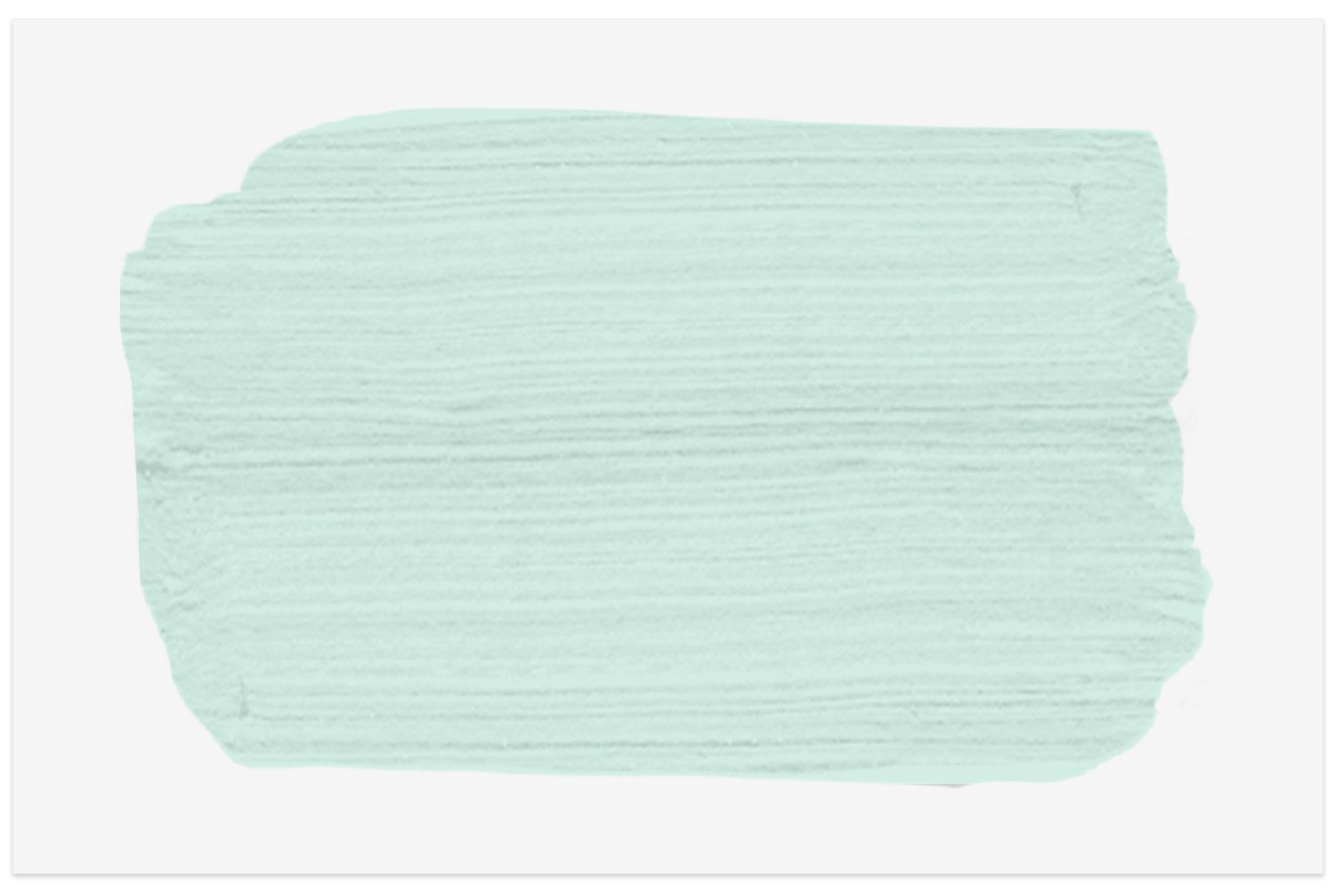Soft Mint MD-19 paint swatch from Behr