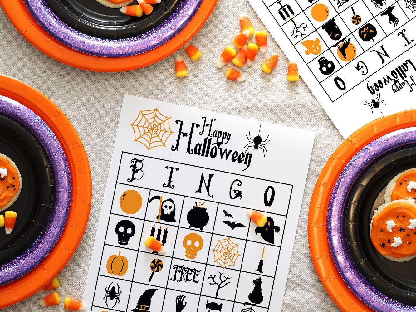 13 Sets Of Free Printable Halloween Bingo Cards