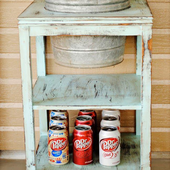 A DIY drink station