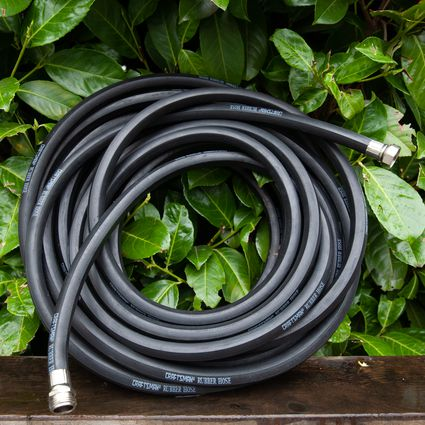 Soaker Hose Out Of An Old Garden
