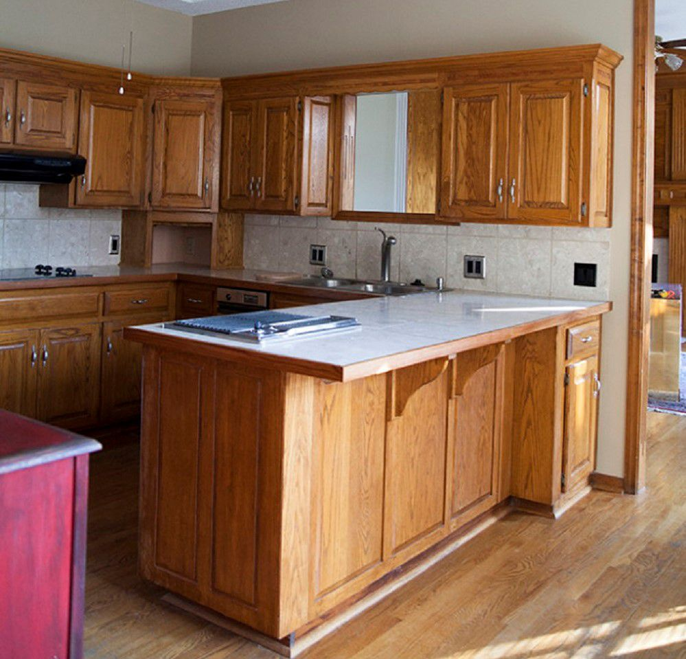 Amazing Before After Kitchen Remodels - How to add onto existing kitchen cabinets