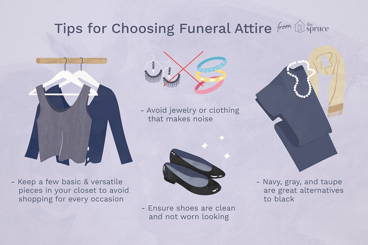 Appropriate Traditional Funeral Attire