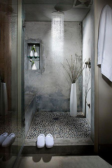 industrial bathroom inspiration - Industrial Bathroom