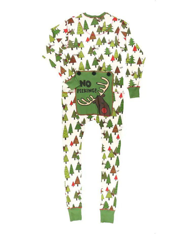 Lazy One No Peeking Christmas Pajamas