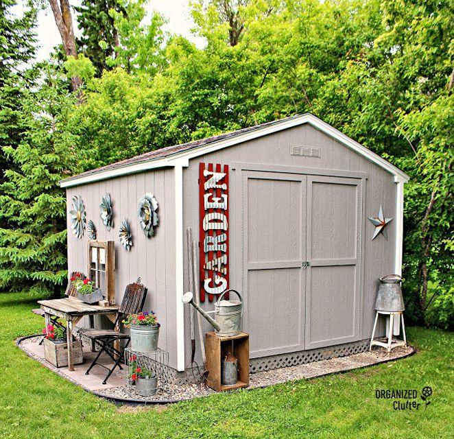Cobertizo de jardín personalizado