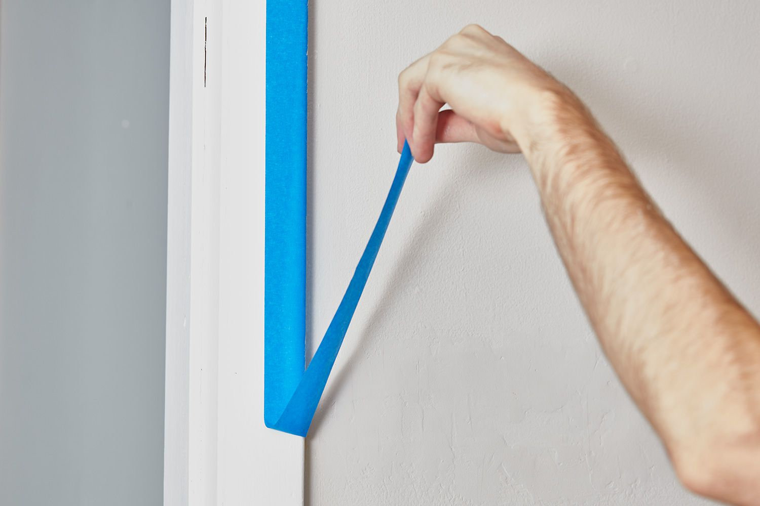 Removing painter's tape