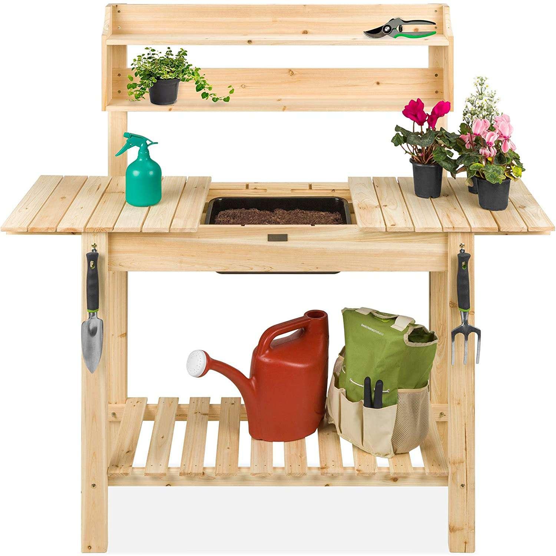 Outdoor Garden Potting Bench