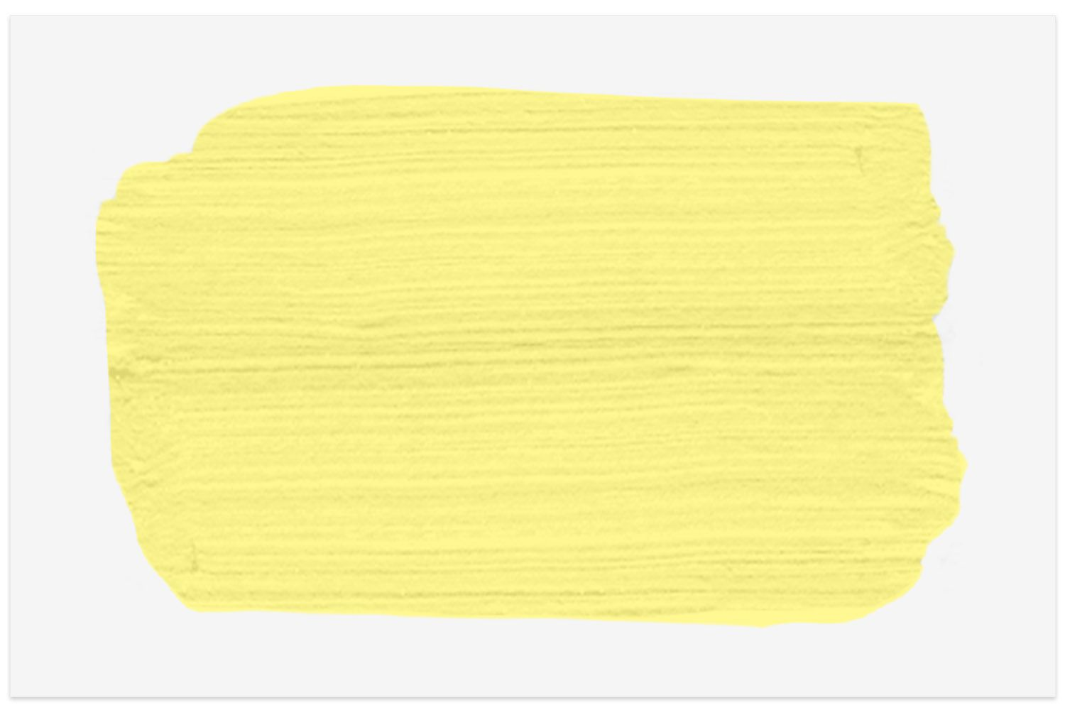 Yellow With Green paint swatch